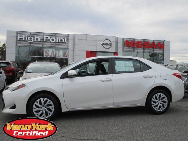 Photo Used 2017 Toyota Corolla LE CVTFor Sale in High-Point, NC near Greensboro and Winston Salem, NC