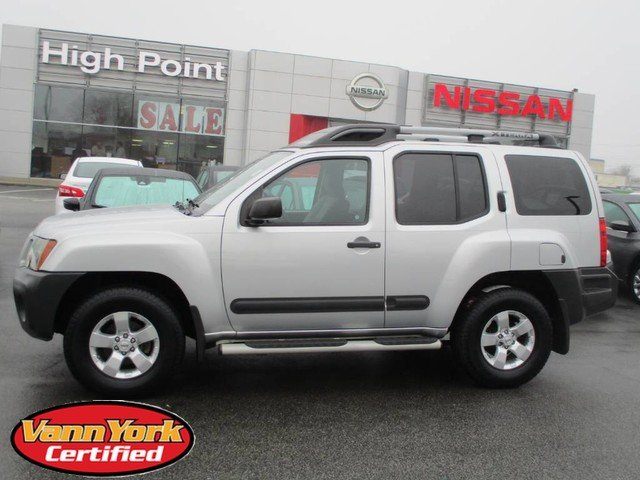 Photo Used 2011 Nissan Xterra S SUV For Sale in High-Point, NC near Greensboro and Winston Salem, NC