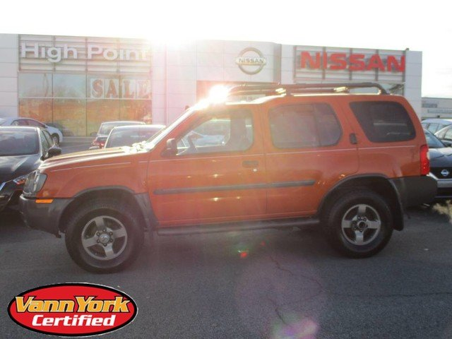 Photo Used 2003 Nissan Xterra SE SUV For Sale in High-Point, NC near Greensboro and Winston Salem, NC