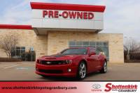 2012 Chevrolet Camaro 2dr Cpe 1SS Coupe