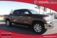 Used 2015 Toyota Tundra 4WD CrewMax Short Bed 5.7L FFV Limited