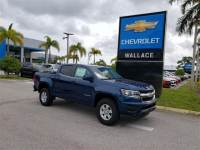 Pre-Owned 2020 Chevrolet Colorado Crew Cab Short Box 2-Wheel Drive WT