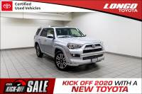 Certified Used 2018 Toyota 4Runner Limited 2WD in El Monte