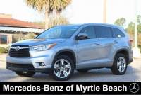 Used 2015 Toyota Highlander SUV For Sale in Myrtle Beach, South Carolina
