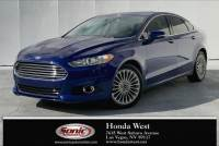 Pre-Owned 2016 Ford Fusion 4dr Sdn Titanium FWD VIN3FA6P0K98GR254928 Stock NumberSGR254928