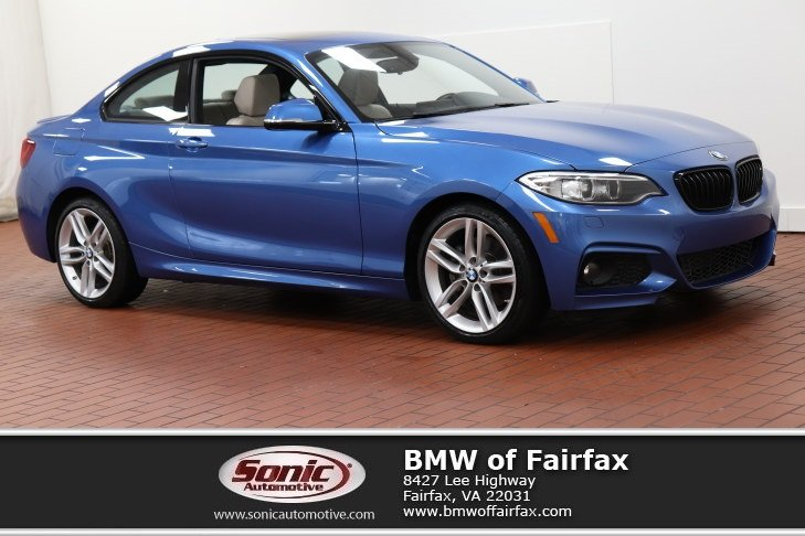 Photo Certified Used 2017 BMW 2 Series Coupe in Fairfax, VA