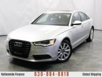 2014 Audi A6 3.0T Premium Plus / 3.0L V6 Engine / AWD Quattro / Sunroof / Navigation / Bluetooth / Parking Aid & Rear View Camera / Bose Premium Sound System