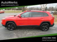 2017 Jeep Cherokee 4x4 High Altitude 4dr SUV