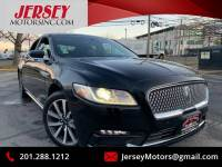 2018 Lincoln Continental AWD Premiere Livery 4dr Sedan