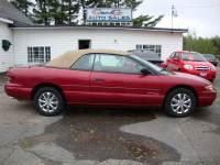 1998 Chrysler Sebring JX 2dr Convertible