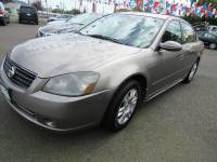 2006 Nissan Altima 2.5 S 4dr Sedan w/Automatic