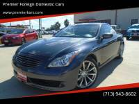 2008 Infiniti G37 2dr Coupe