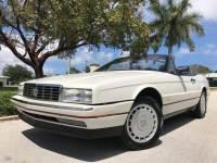 1992 Cadillac Allante 2dr Convertible