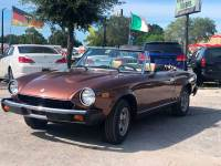 1981 FIAT 2000 Spider 2dr Convertible
