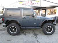 2008 Jeep Wrangler 4x4 Sahara 2dr SUV w/Side Airbag Package