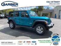 2020 Jeep Wrangler Unlimited Sport 4x4, Trailer Tow, Safety Group