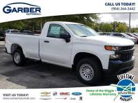 2020 Chevrolet Silverado 1500 4x2 Work Truck 2dr Regular Cab 8 ft. LB