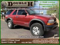 2003 Chevrolet Blazer LS ZR2 4WD 2dr SUV