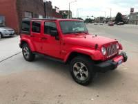 2018 Jeep Wrangler JK Unlimited Sahara 4x4 4dr SUV