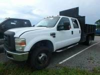 2008 Ford F-350 Super Duty 4X4 4dr Crew Cab 176.2 in. WB