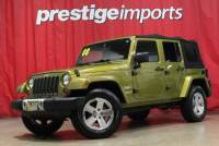 2008 Jeep Wrangler Unlimited 4x4 Sahara 4dr SUV w/Side Airbag Package