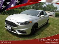 2017 Ford Fusion AWD V6 Sport 4dr Sedan