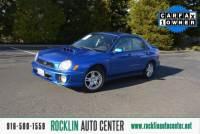 2003 Subaru Impreza AWD 4dr WRX Turbo Sedan