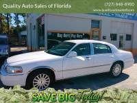 2003 Lincoln Town Car Executive 4dr Sedan