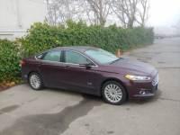Used 2013 Ford Fusion Energi SE Luxury Sedan