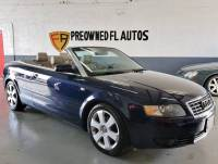 2004 Audi A4 2dr 1.8T Turbo Cabriolet