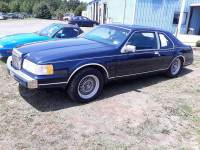1989 Lincoln Mark VII LSC 2dr Coupe