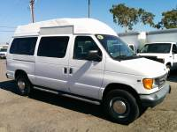 2001 Ford E-Series Wagon High Roof Camper Ready Cargo Van