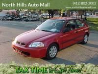 1998 Honda Civic DX 2dr Hatchback