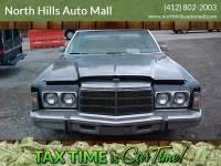 1978 Chrysler Newport CUSTOM COUPE