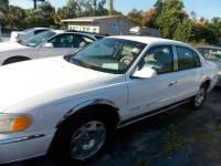 1999 Lincoln Continental 4dr Sedan