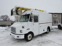 Used 2004 Freightliner MT45 Enclosed Bucket Truck