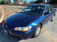 2002 Honda Accord Value Package 4dr Sedan