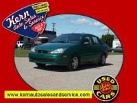 2002 Ford Focus SE 4dr Sedan