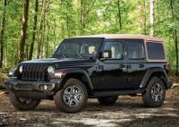 2020 Jeep Wrangler Unlimited 4x4 Black and Tan 4dr SUV