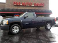 2009 Chevrolet Silverado 1500 4x2 Work Truck 2dr Regular Cab 8 ft. LB