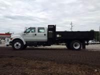 2002 Ford F-650 Superduty Dump Truck Crew Cab