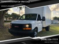 2014 GMC Savana Cutaway 3500 2dr Commercial/Cutaway/Chassis 177 in. WB