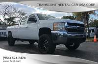 2012 Chevrolet Silverado 2500HD 4x4 Leather Interior