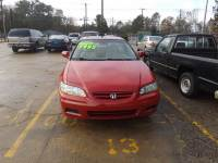 2002 Honda Accord EX 2dr Coupe w/Leather
