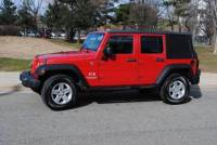 2008 Jeep Wrangler Unlimited 4x4 X 4dr SUV
