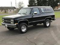1989 Chevrolet Blazer 2dr Silverado 4WD SUV