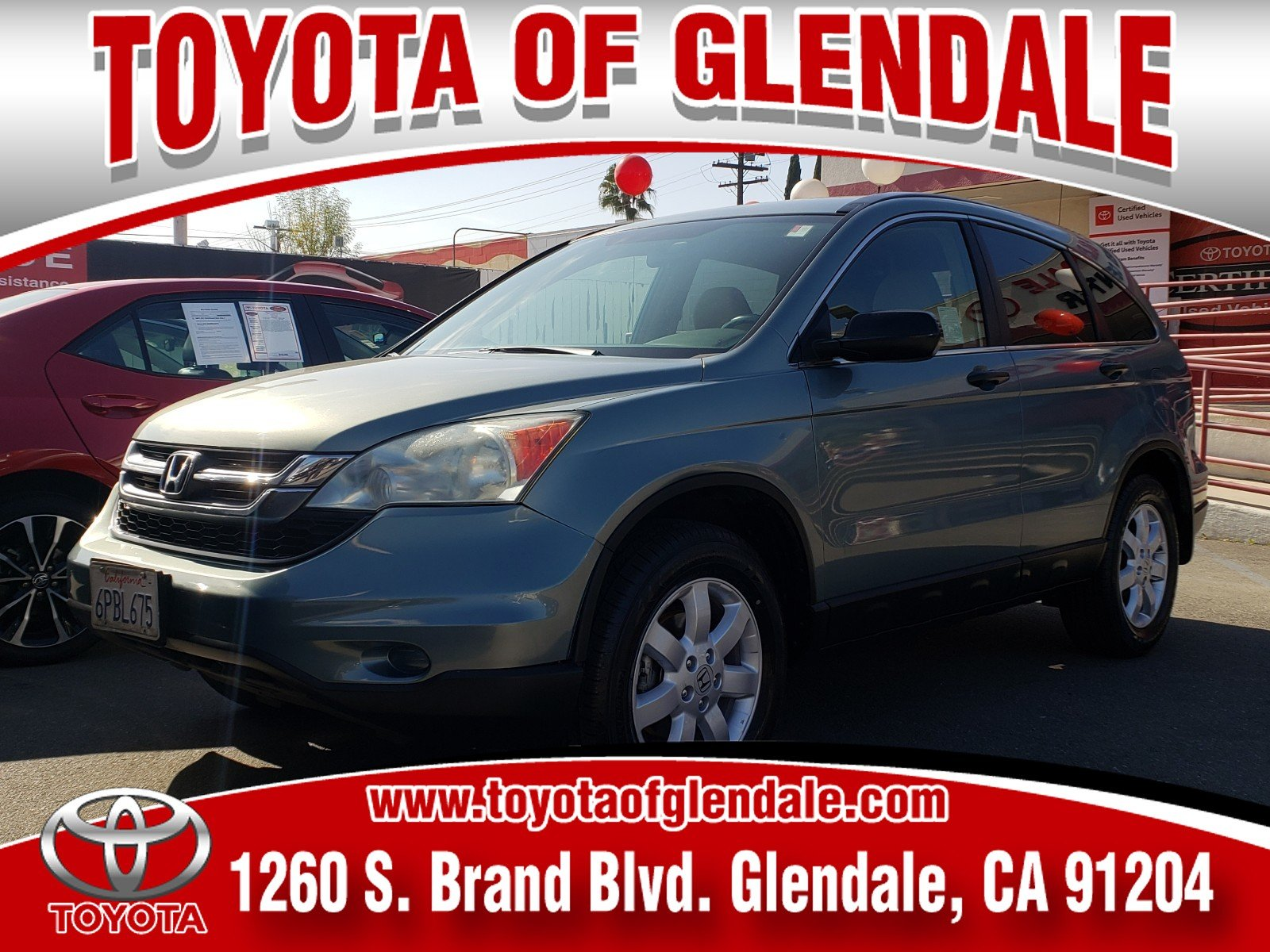 Photo Used 2011 Honda CR-V, Glendale, CA, Toyota of Glendale Serving Los Angeles