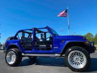 Used 2019 Jeep Wrangler Unlimited CUSTOM LIFTED SAHARA LEATHER NAV FAB FOUR