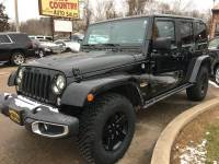 2015 Jeep Wrangler Unlimited 4x4 Sahara 4dr SUV
