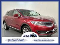 2018 Lincoln MKX AWD Select 4dr SUV